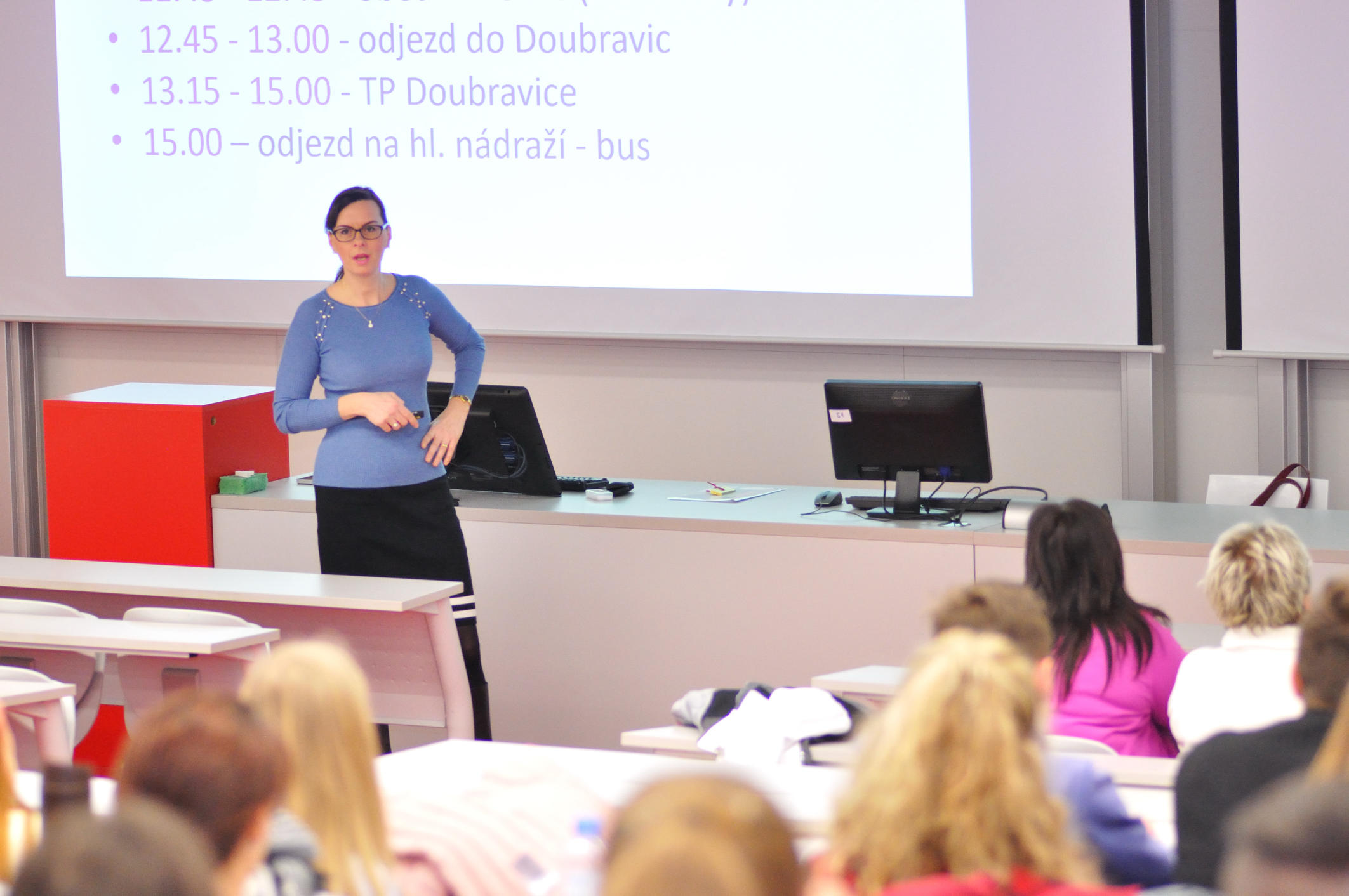 Exkurze SPŠCh Pardubice a Ostrava